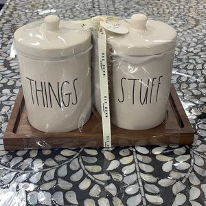 Rae Dunn things and stuff brand new